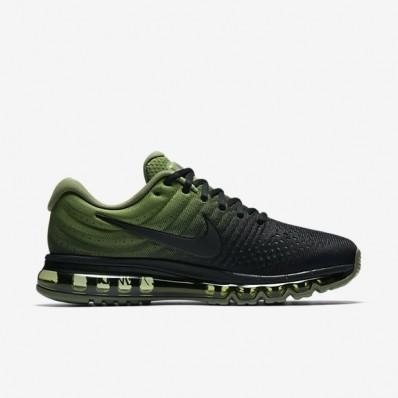 air max groen zwart