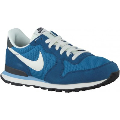 blauwe nike sneakers internationalist heren