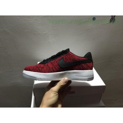 nike air force 1 flyknit rood