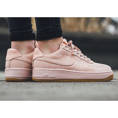 nike air force 1 low suede roze