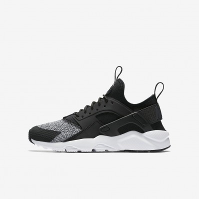 nike air huarache zwart wit