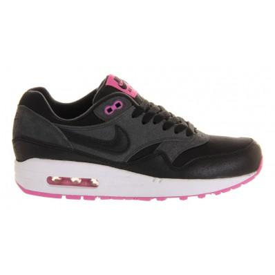 nike air max 1 roze zwart