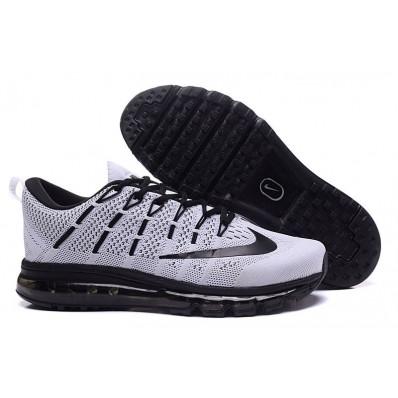 nike air max 2016 grijs met zwart