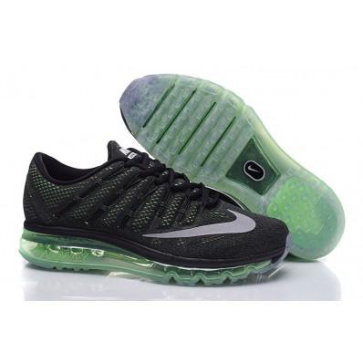 nike air max 2016 groen zwart