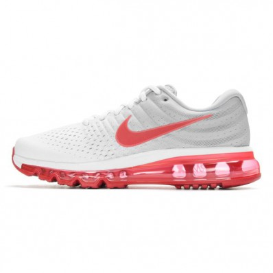 nike air max 2017 rood wit grijs