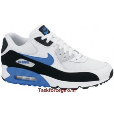 nike air max 90 blauw wit