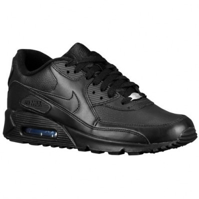 nike air max 90 heren leer zwart