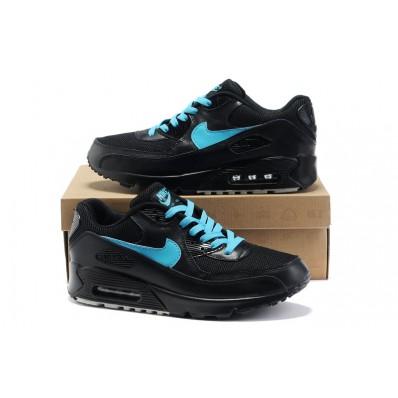 nike air max 90 zwart blauw