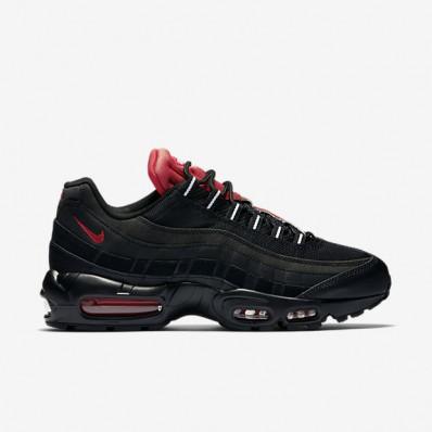nike air max 95 rood zwart