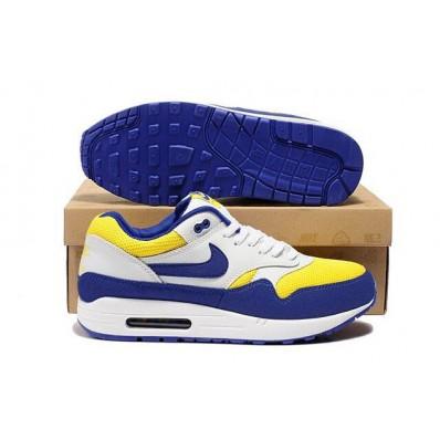 nike air max blauw geel