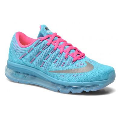 nike air max blauw roze dames