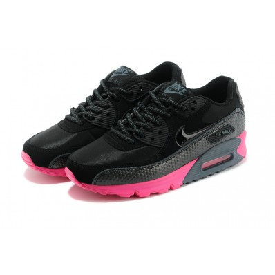 nike air max dames zwart met roze