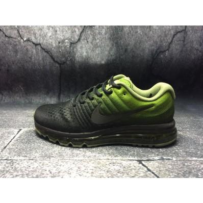 nike air max groen zwart