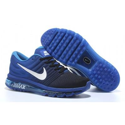 nike air max wit blauw zwart