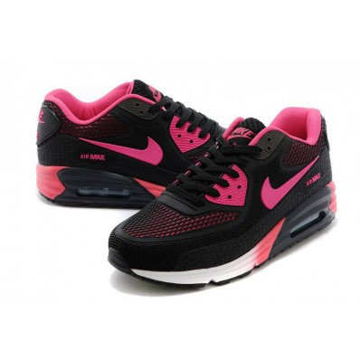 nike air max zwart met roze