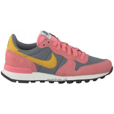 nike internationalist dames roze grijs