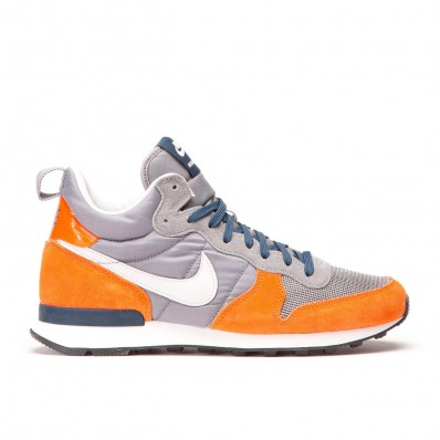 nike internationalist grijs oranje
