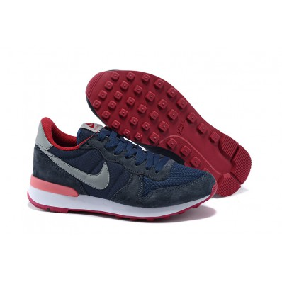 nike internationalist heren army green lake blauw oranje