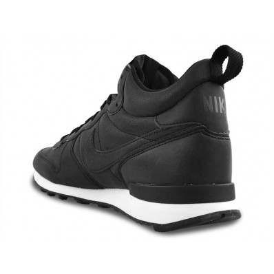nike internationalist mid dames zwart