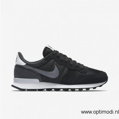 nike internationalist schoenen dames zwart/anthracite/cool grey