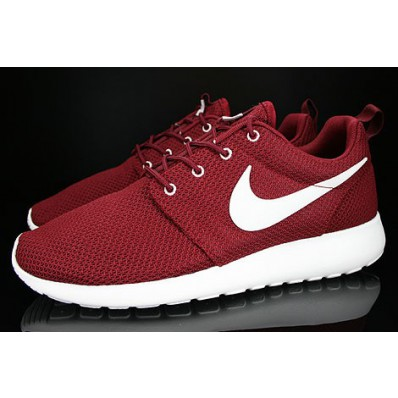 nike roshe run rood heren