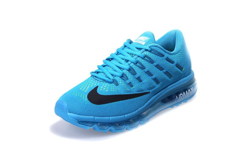 nike air max 2016 blauw wit