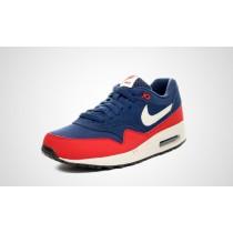 nike air max 1 rood blauw
