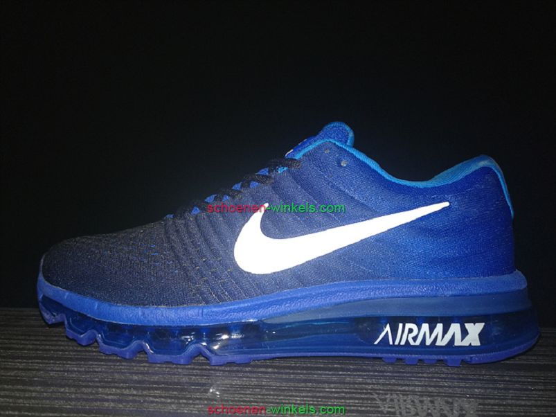 air max 2017 blauw heren