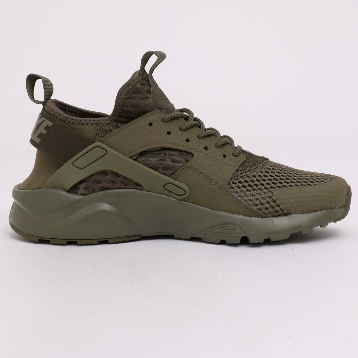 nike air huarache run ultra groen