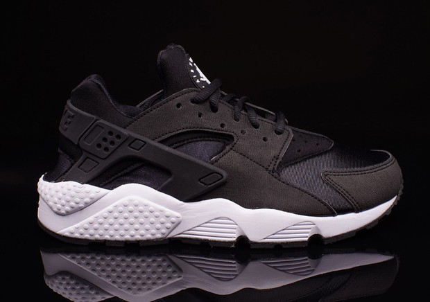 nike air huarache zwart wit dames