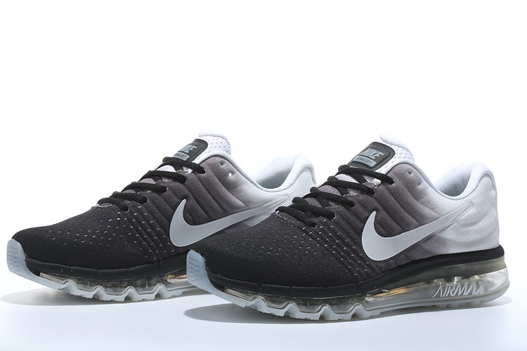 nike air max 2017 heren zwart wit