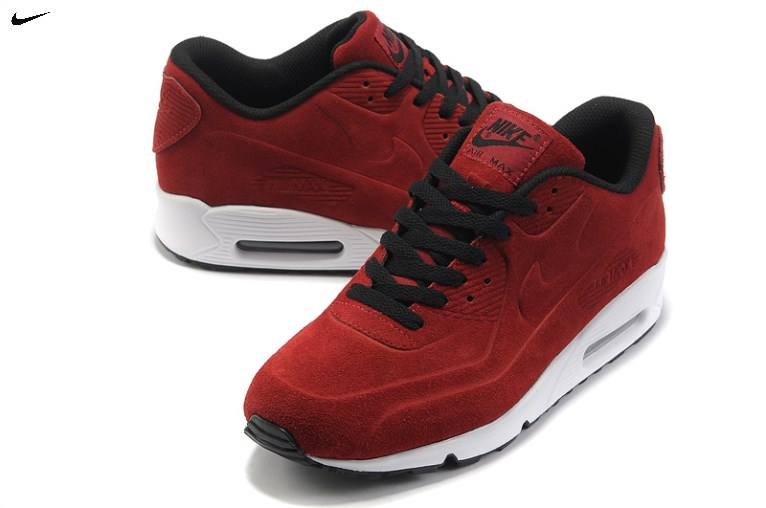 nike air max 90 heren rood