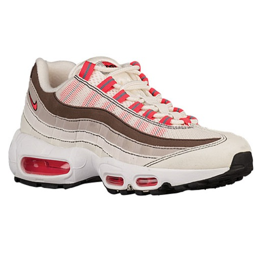 nike air max 95 rood wit