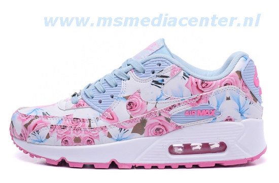 nike air max bloemenprint roze
