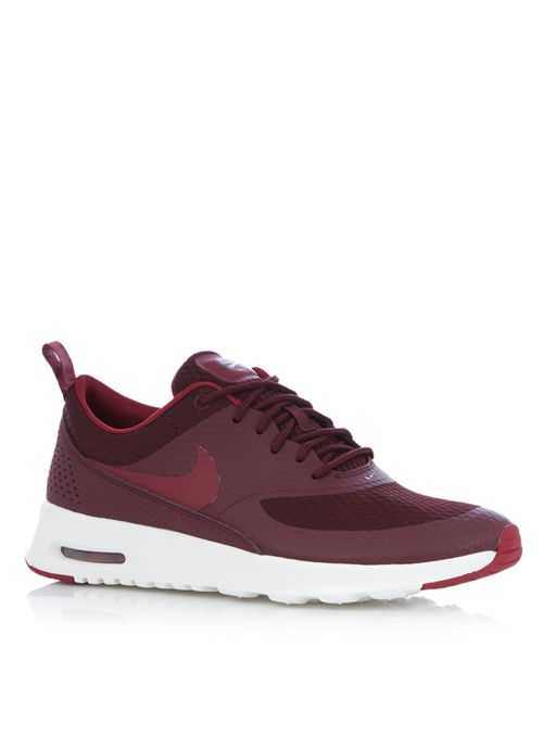 nike air max thea bordeaux rood dames