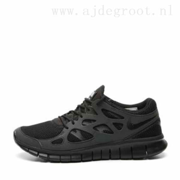 nike free run 2 black heren