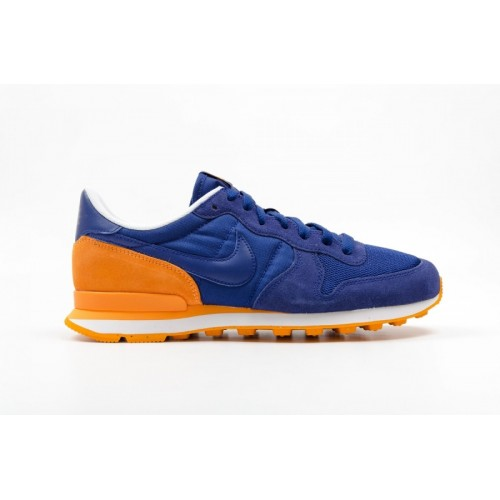 nike internationalist blauw oranje