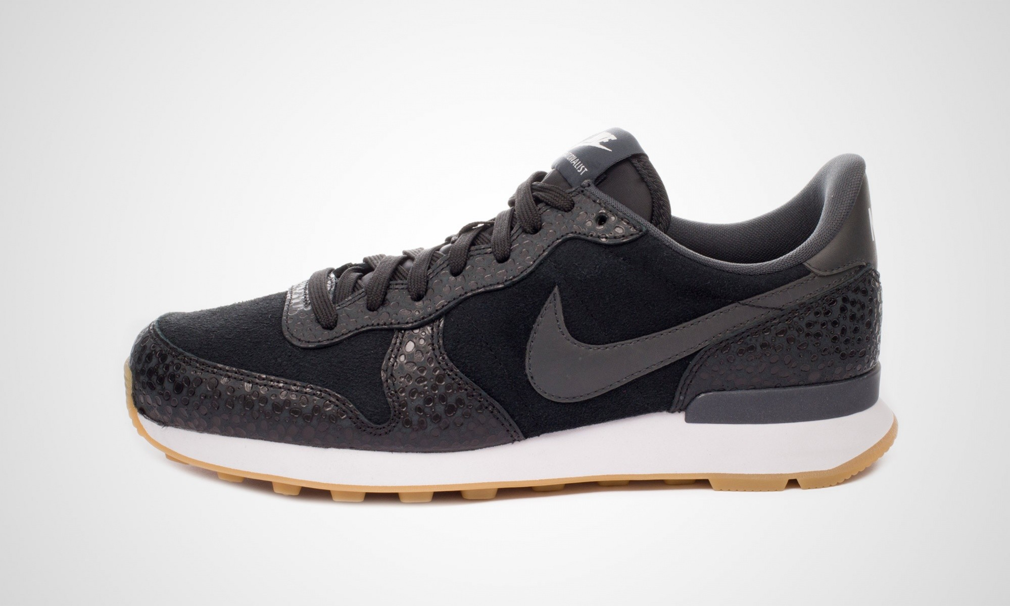nike internationalist dames zwart