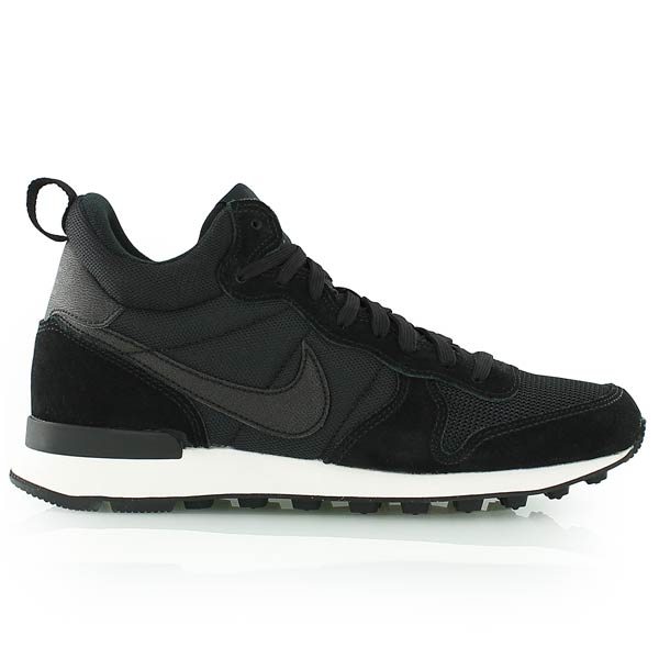 nike internationalist mid zwart