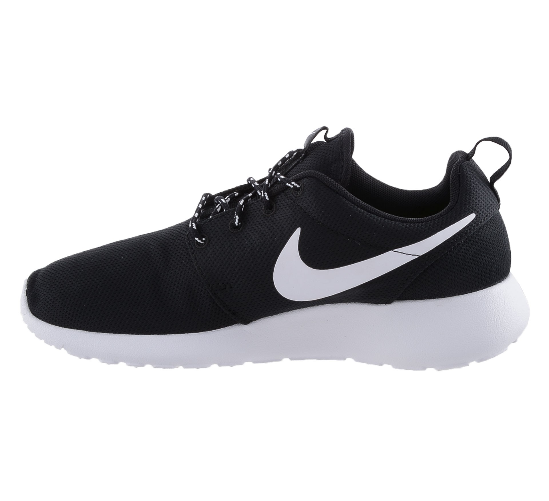 roshe nike zwart and wit